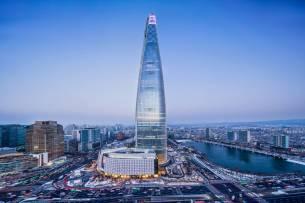 Открылось самое высокое в Корее здание (555 м)